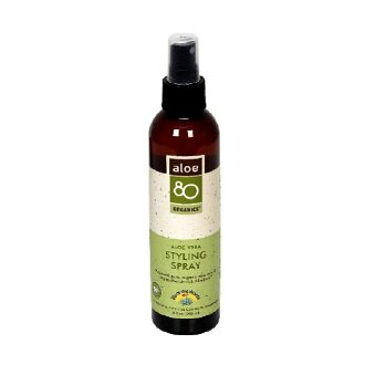 Lily Of The Desert Aloe 80 Organics Styling Spray