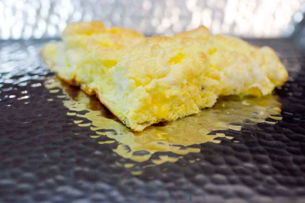 Puffy Omelet With Cheese