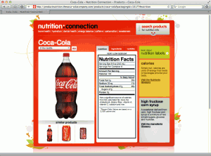 Coca Cola 2 liter Nutrition Facts