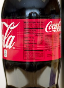 Coca-Cola - 2 Liters - Nutrition Facts