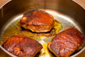 Paprika Spiced Pork Chops