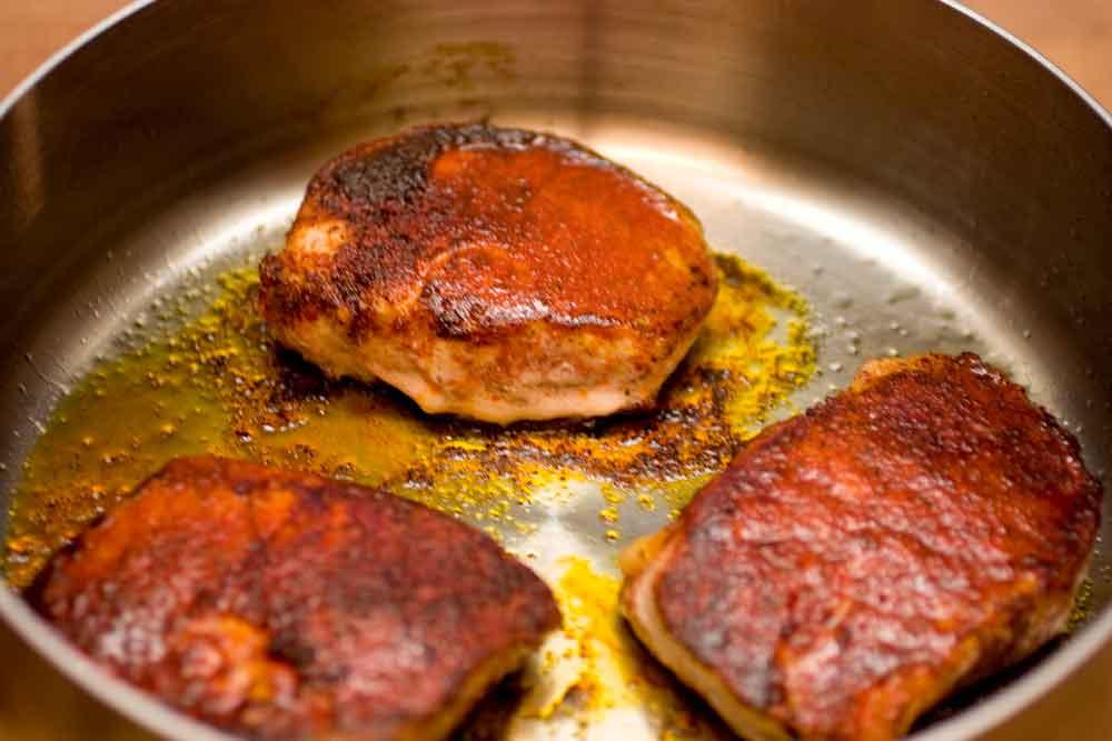 Paprika Spiced Pork Chops