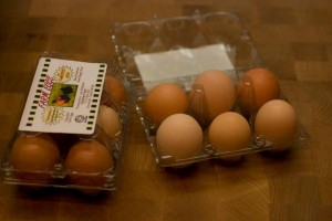 pastured raised eggs