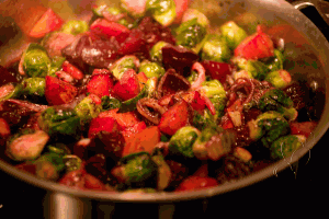 Beets And Brussels Sprouts
