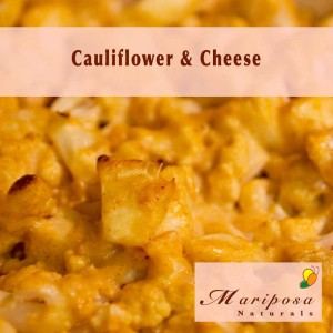 What's better than macaroni with cheese? How about cauliflower with cheese?