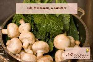 Kale, Mushrooms, & Tomatoes