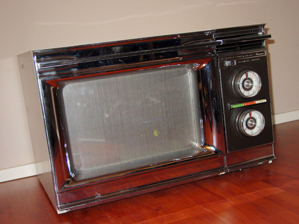 The First Amana Radarange Microwave Oven Came Out In 1969 And My Dad Had To