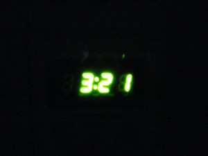 Tick, Tock - When you can't sleep, time just seems to crawl, doesn't it?