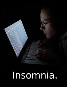 What can you do when your insomnia becomes chronic? Here's some tips for you.