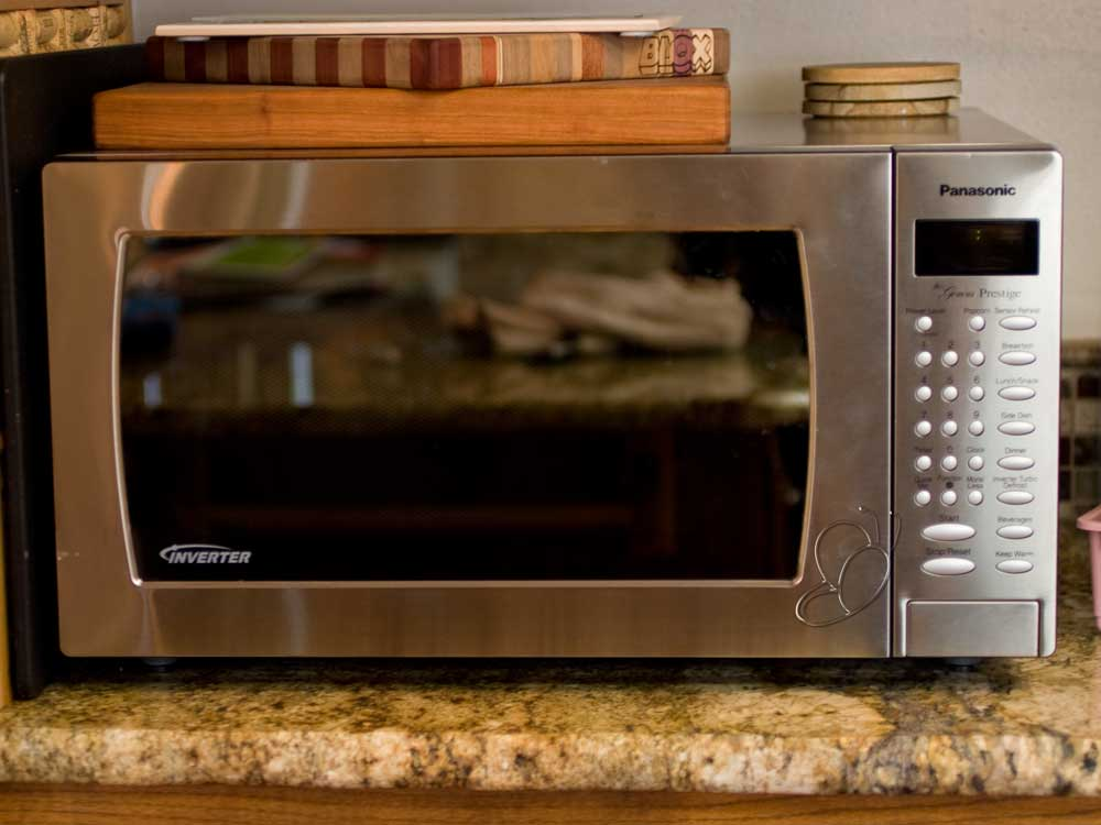 First Microwave Oven ~ Microwave oven mariposa naturals