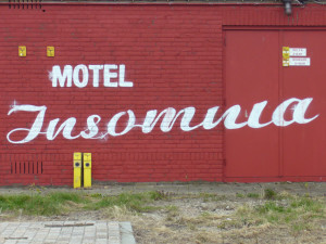 When insomnia becomes chronic, you might actually believe you've checked into the Motel Insomnia. How do you check out?