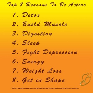 Top 8 Reasons to Be Active Every Day