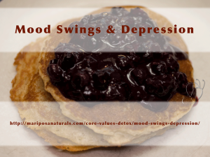 "Coping with mood swings or depression? Bring it to the Nutrition Decoder to as ""Why?"""