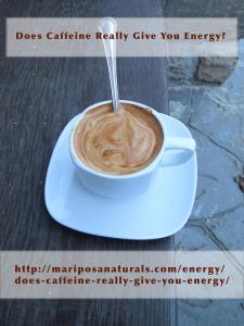 Caffeine - Energy supplier or energy drain?