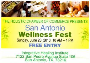 HCC - San Antonio Wellness Fest - Click to download flyer.