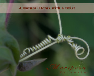 A Natural Detox with a twist