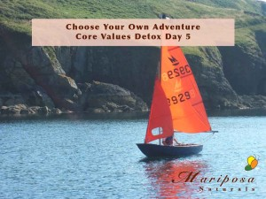 Choose Your Own Adventure - Core Values Detox Day 5