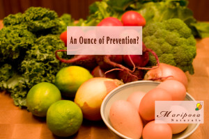 An Ounce Of Prevention - Diet and lifestyle changes to prevent cancer?