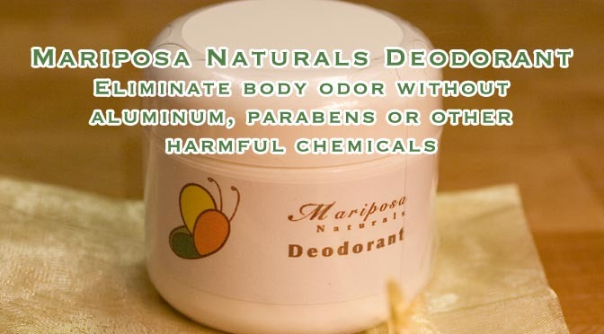 Why Natural Deodorants?