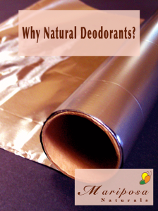 Why Choose Natural Deodorants?