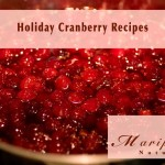 Holiday Cranberry Recipes