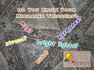 Do you know your migraine triggers?