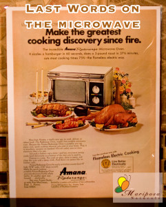 Forget water, what does the microwave do to our food?