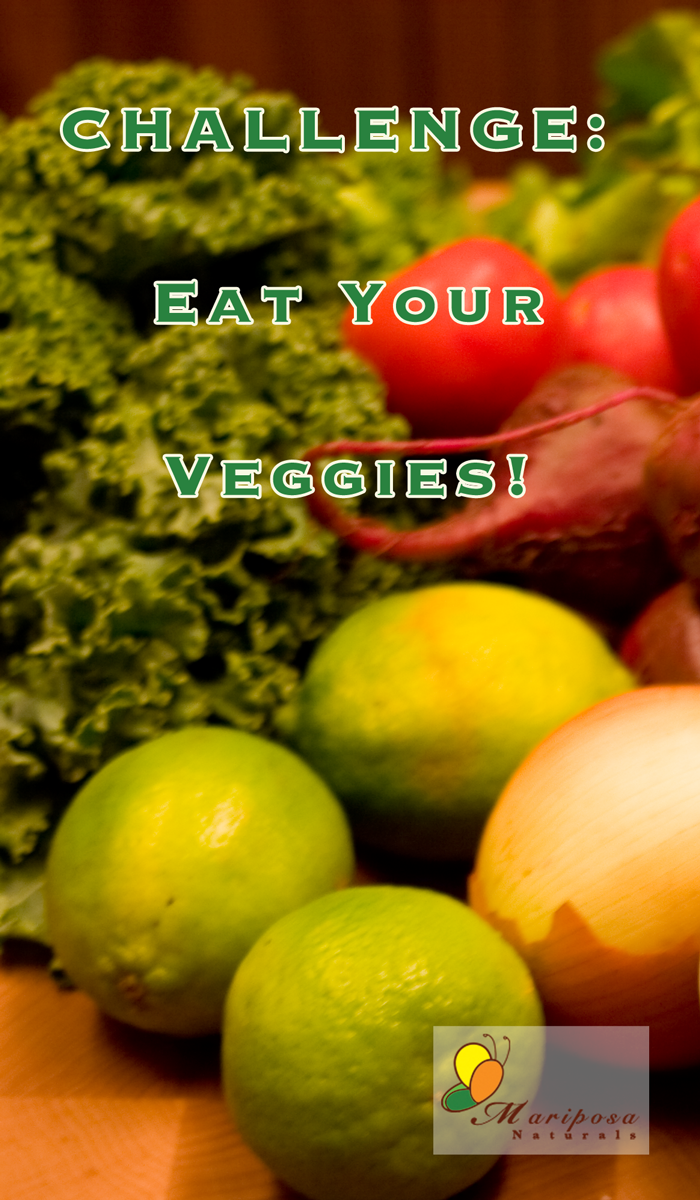 Challenge: Eat Your Veggies!