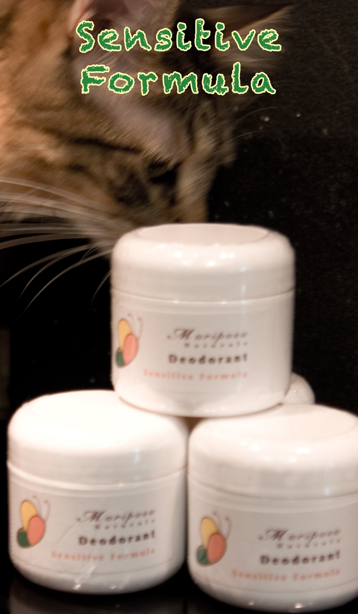 Mariposa Naturals Sensitive Formula Deodorant