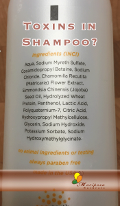 Toxins In Shampoo