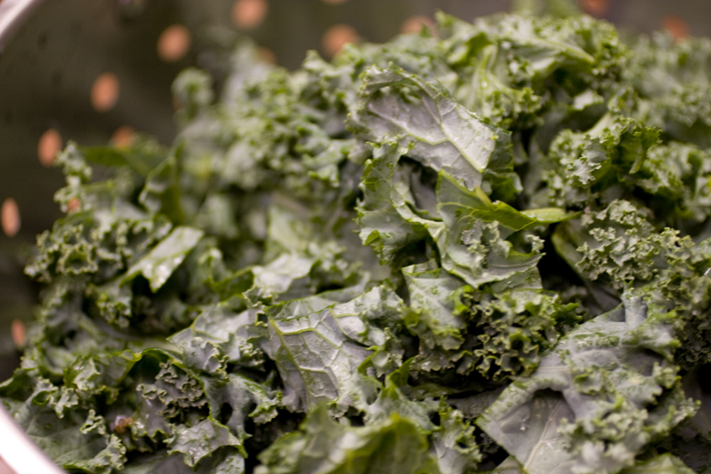 Braised Kale – Step by Step